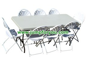 6ft Tables $6 / Folding Chair $0.75 (8hrs) + Delivery