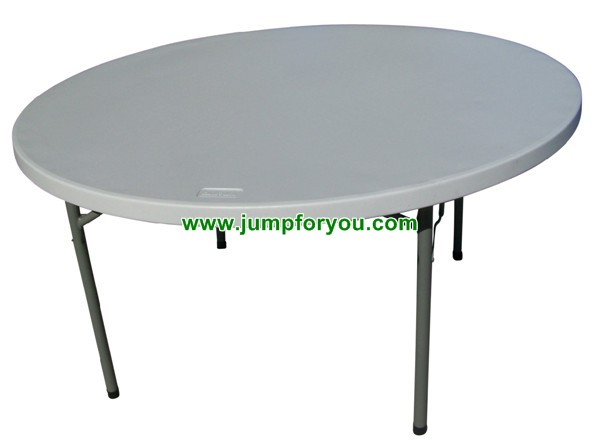 Round Folding Table Rental 7 Ea 8hrs Delivery