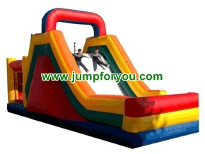 3 in 1 combo jumper inflatable slide 32Lx11Wx20H for rent