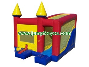 4 in 1 combo jumper slide climb basketball 19x15x14 for rent