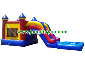 C1111 Combo Inflatable Castle Water/Dry Slide