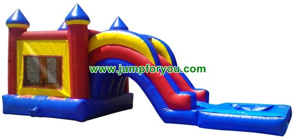 Combo Jumper Water/Dry Slide For Sale