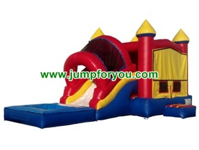 C1112 Combo Inflatable Castle Water Slide