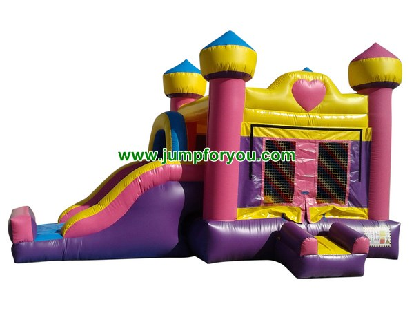 C1131 Princess Inflatable Combo Jumper