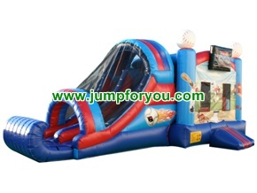 C167a 27FT Inflatable Baseball Jumper Combo