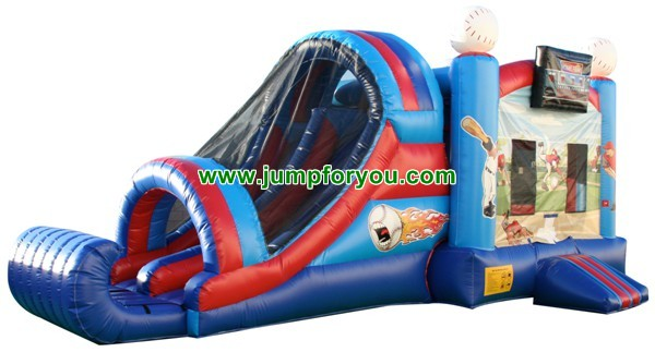 27FT Inflatable Baseball Jumper Combo For Sale
