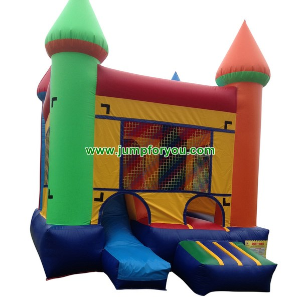 C432 Multicolor Inflatable Combo Jumper