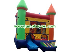 C432 Multicolor Bounce House Combo For Sale