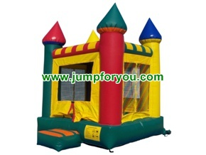 10x10 Multicolor Inflatable Castle For Rent
