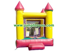 10x10 Yellow Inflatable Castle For Rent