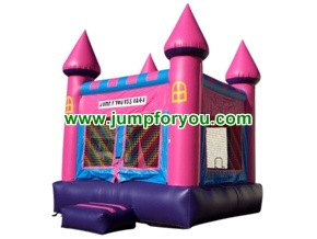 B1005 13x13 Pink Inflatable Castle