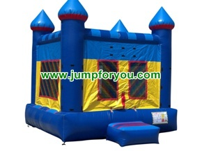 B1006 13x13 Blue Inflatable Castle