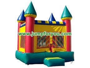 B1007 13x13 Multicolor Inflatable Castle For Rent