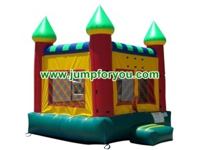 B1008 13x13 Multicolor Inflatable Castle