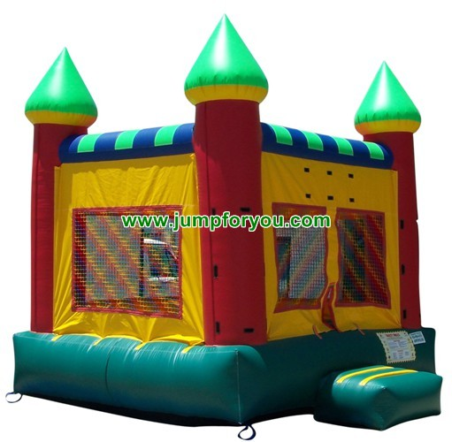 13x13 Multicolor Inflatable Castle For Sale