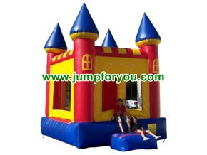 B1010 11x11 Red/Yellow Inflatable Castle For Rent
