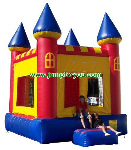 11x11 Multicolor Inflatable Castle For Sale