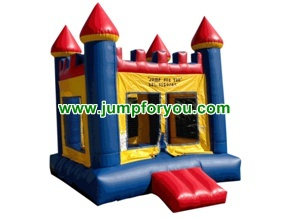 B1011 13x13 Blue/Yellow Inflatable Castle For Rent
