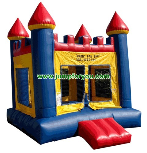 13x13 Blue/Red Inflatable Castle For Sale