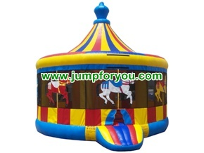 B101 Inflatable Brincolin Carousel Carrusel