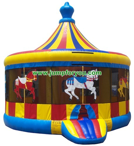 Carousel Inflatable Jumper For Sale