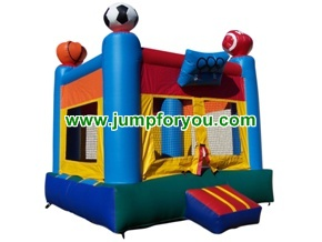B1020 13x13 Sports Arena Inflatable Bouncer