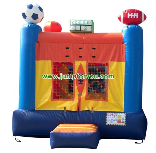 13x13 Sport Arena Inflatable Bouncer For Sale