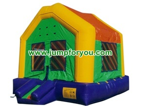 B1002 10x10 Multicolor Inflatable Castle