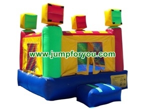 B1041 8x8 Inflatable Moon Bouncer
