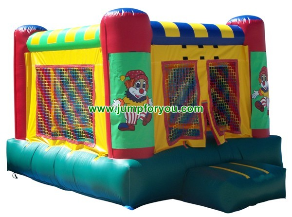 11x11 Clown Inflatable Jumper For Sale