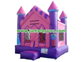 B1044 13x13 Princess Inflatable Castle