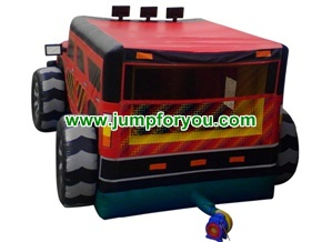 Inflatable Truck Hummer Jumper For Rent