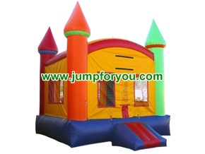 B105A 13x13 Rainbow Castle Jumper