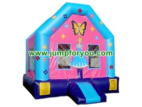 B119A 13x13 Princess Doll Bounce House