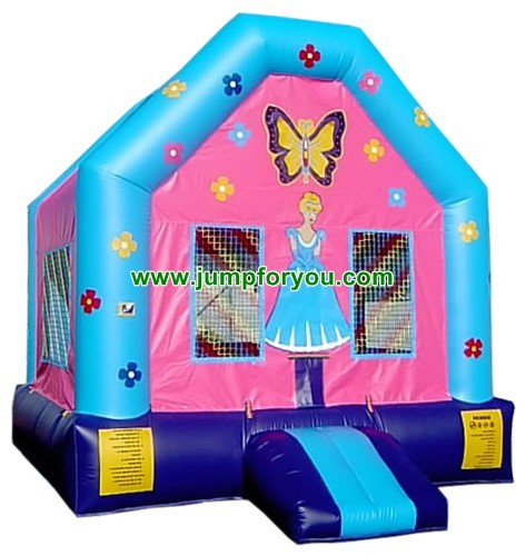 13x13 Princess Doll Bounce House For Sale