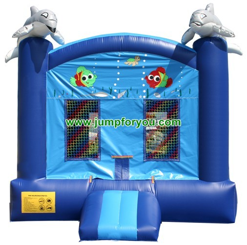 13x13 Ocean World Inflatable Jumper For Sale