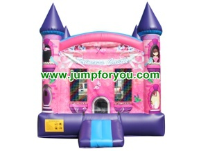 B145a 13x13 Princess Inflatable Castle