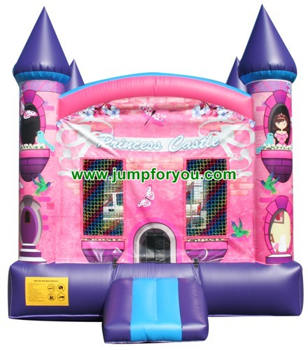 13x13 Princess Inflatable Castle For Sale