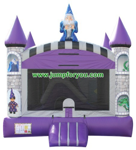 13x13 Wizard Inflatable Bouncer For Sale