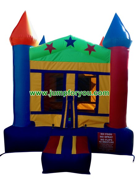 B403 Multicolor Inflatable Castle For Sale
