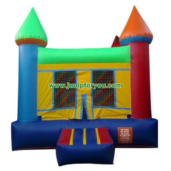 B464 Multicolor Inflatable Castle For Sale