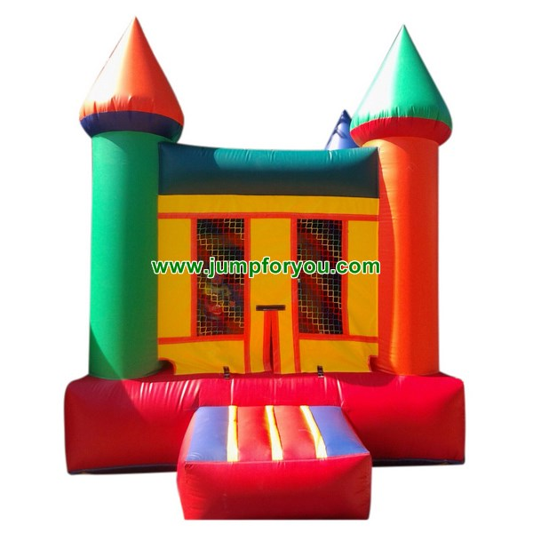 B473 Multicolor Inflatable Castle For Sale