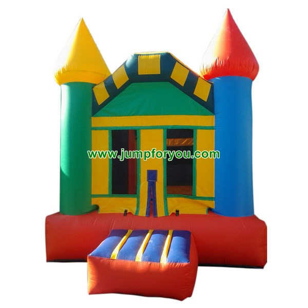 B474 Multicolor Inflatable Castle For Sale