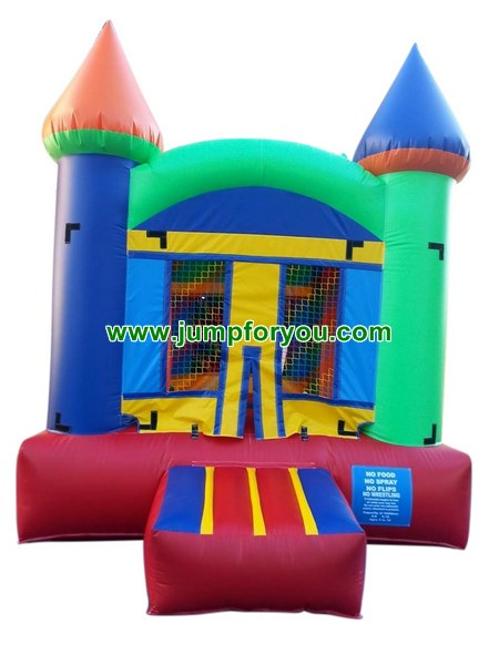 B482 Multicolor Inflatable Castle For Sale