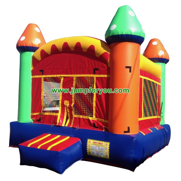 B493 Multicolor Inflatable Castle For Sale