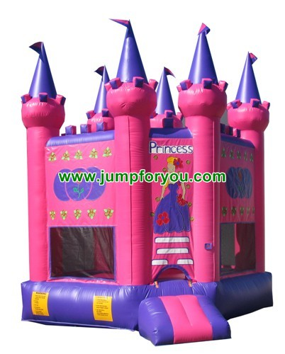 13x13 Pink Princess Inflatable Bouncer For Sale