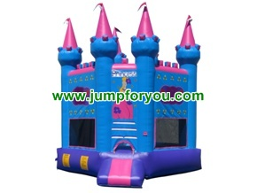 BH1012 Princess Blue Inflatable Castle