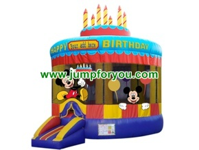 Mickey Mouse Birthday Inflatable Bouncer For Rent