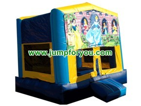 Snow White Inflatable Jumper For Rent 13x13