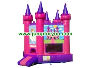 Tango Princess Inflatable Castle